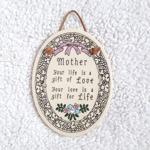 Hallmark Oval Mom Quote Wall Hanging